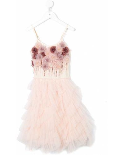 Платье из фатина хлопковое Tutu Du Monde