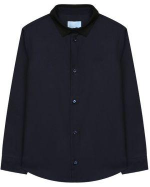 Рубашка черная синий Lanvin