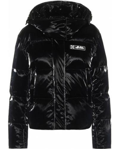 Пуховая черная куртка Off-white