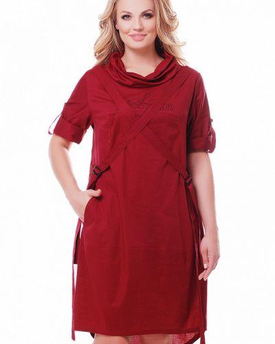 Повседневное красное платье Vlavi