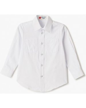 Рубашка белая синий Button Blue