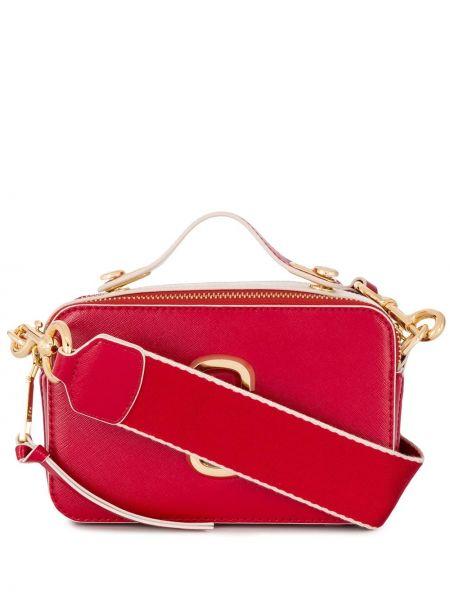 Кожаная сумка через плечо большая Marc Jacobs
