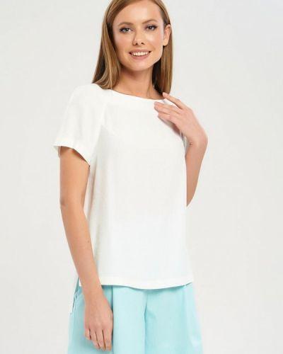 Блузка белая весенний Akimbo