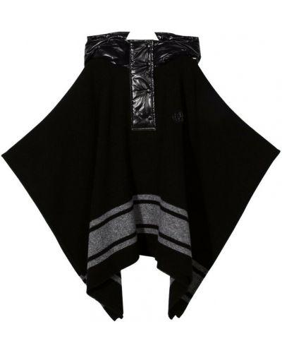 Narzutka wełniana - czarna Moncler