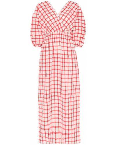 Платье макси с запахом с V-образным вырезом Mara Hoffman