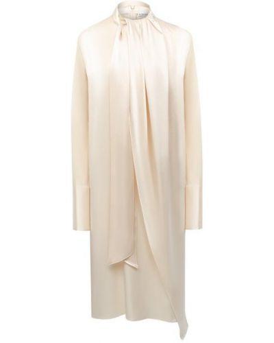 Бежевое платье Loewe