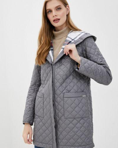 Теплая серая куртка Helmidge