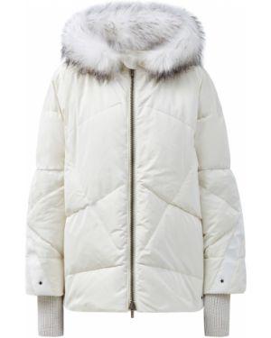 Куртка с капюшоном - белая Lorena Antoniazzi