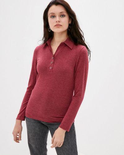 Коричневая с рукавами блузка Арт-Деко