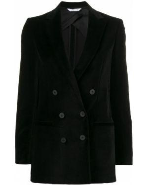 Черный пиджак с манжетами Tonello
