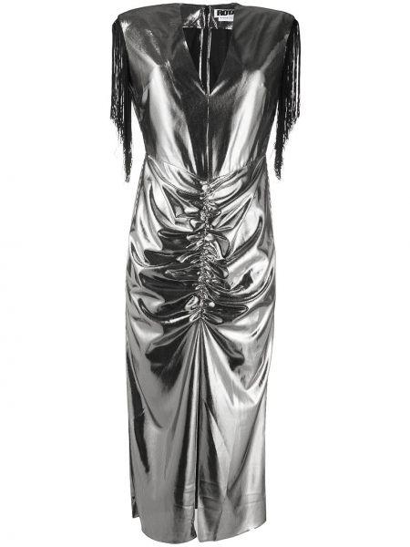 Платье миди с бахромой с V-образным вырезом Rotate