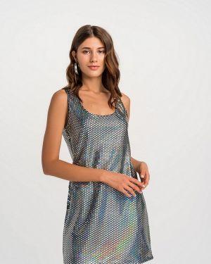 Серебряное платье Befree
