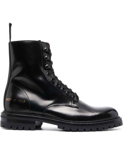 Кожаные ботинки челси - черные Common Projects