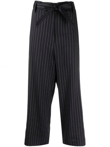 Укороченные брюки с лампасами со штрипками Barena