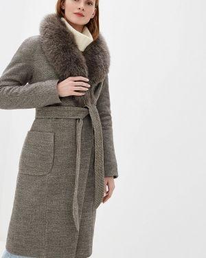 Пальто демисезонное бежевое Giulia Rosetti