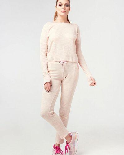 Костюмный розовый спортивный костюм Ora