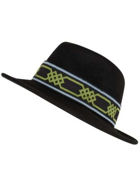 Czarny czapka beanie wełniany Loevenich