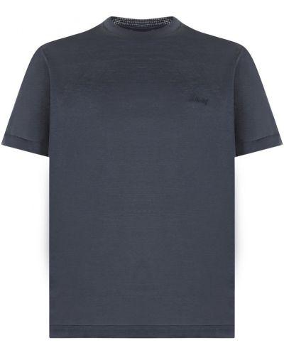 Niebieska t-shirt Brioni