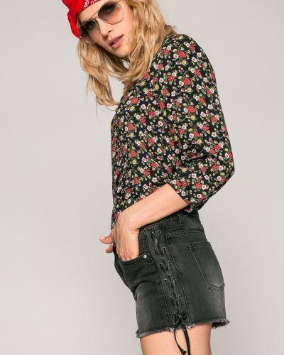 Черные джинсовые шорты Medicine