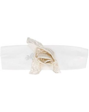 Opaska na głowę biały złoto Monnalisa