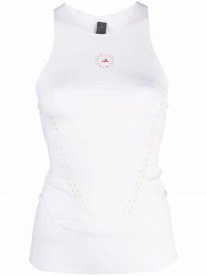 Белый спортивный топ Adidas By Stella Mccartney