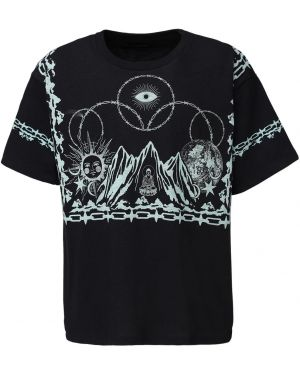 Czarny t-shirt bawełniany Siberia Hills