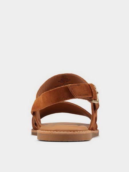 Сандалии - коричневые Clarks