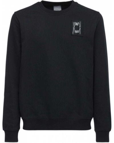 Prążkowana czarna bluza bawełniana Puma Select