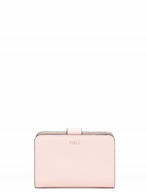 Кожаный кошелек - розовый Furla