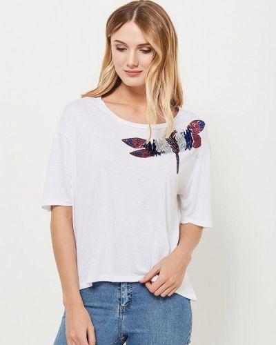Белая футболка Silvian Heach