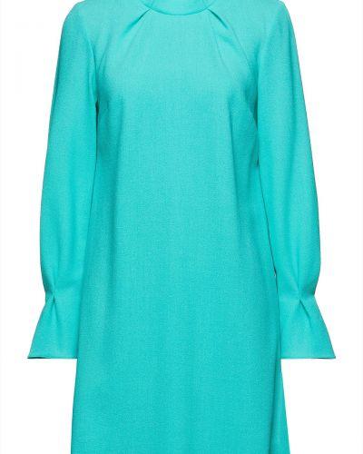 Шерстяное платье мини - бирюзовое Goat