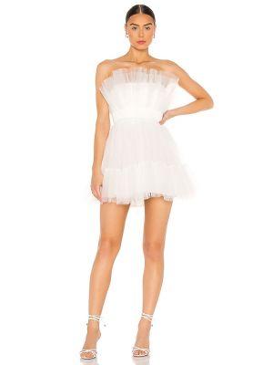 Beżowa sukienka mini tiulowa Katie May