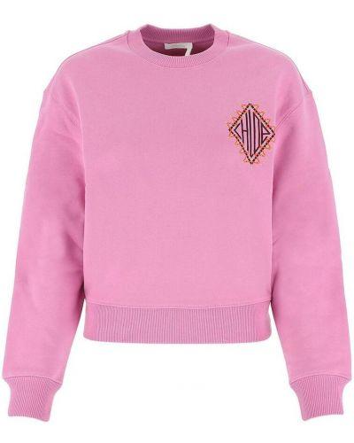 Różowa bluza dresowa Chloe
