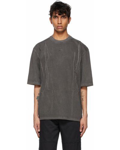 T-shirt krótki rękaw bawełniany z haftem Ader Error