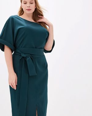 Повседневное платье зеленый Jp