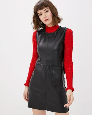 Кожаное платье Ovs