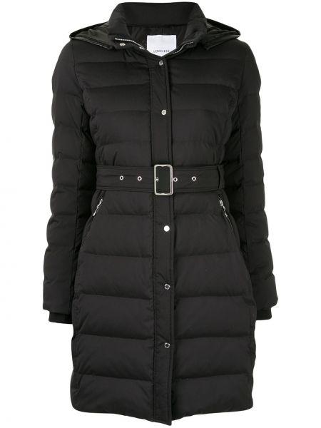 Черное длинное пальто Loveless