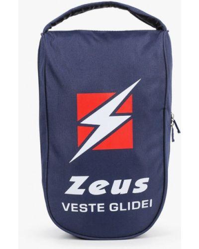Текстильная сумка - синяя Zeus