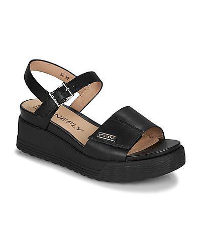 Czarne sandały Stonefly