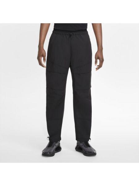 Włókienniczy ze sznurkiem do ściągania spodni bojówki z kieszeniami Nike