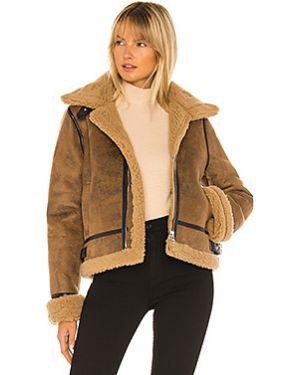 Пальто с воротником на молнии с пряжкой из искусственного меха J.o.a.