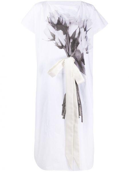 Sukienka mini na wesele o prostym kroju Mm6 Maison Margiela