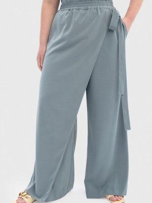 Широкие брюки - бирюзовые W&b