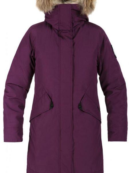 Полупальто с капюшоном - фиолетовое Red Fox