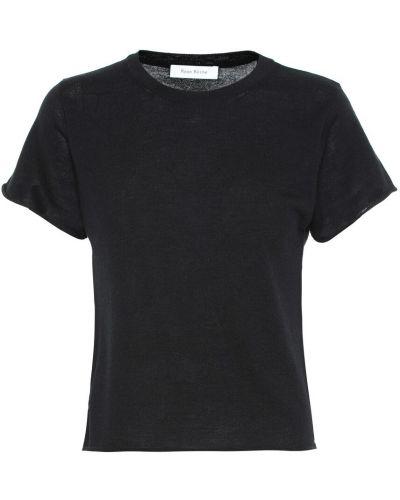 Мягкая черная кашемировая рубашка Ryan Roche