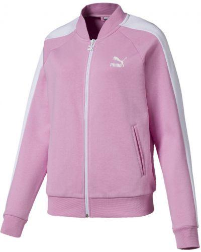 Куртка розовая классическая Puma
