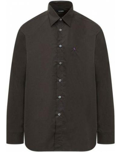 Czarna koszula z kapturem Raf Simons