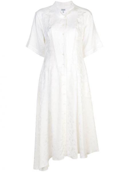 Платье мини миди на пуговицах Loewe