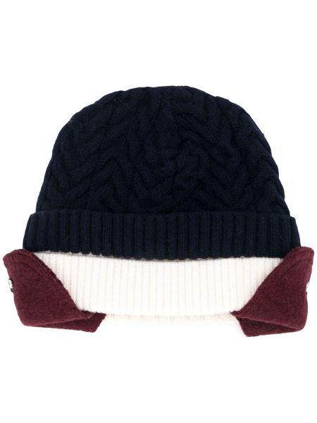 Niebieski kapelusz wełniany Sunnei