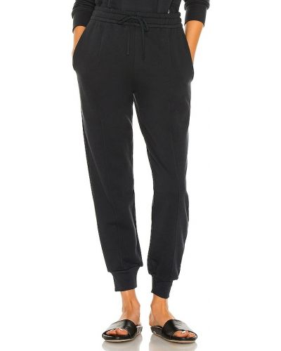 Włókienniczy bawełna spodnie palazzo w połowie kolana z kieszeniami Jonathan Simkhai Standard